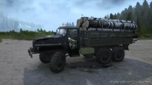 "Textures Ural-375 ""Night Hunter"" V30.06.20 for MudRunner"