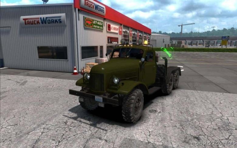 ZIL 157 Truck V1.2 [1.37 – 1.38] for American Truck Simulator