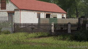 Brick Fence And Gates for Farming Simulator 19
