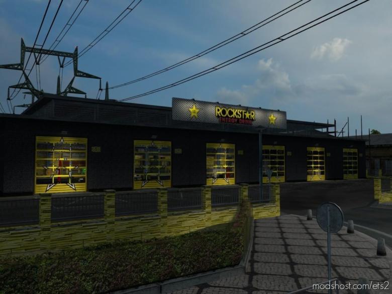 Rockstar Energy Skinpack for Euro Truck Simulator 2
