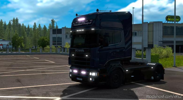 Koot International Transport Skin Scania 4 Series RJL (Metallic) for Euro Truck Simulator 2