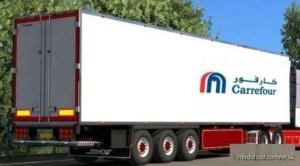 Trailer Carrefour Market [1.35-1.36-1.37] for Euro Truck Simulator 2