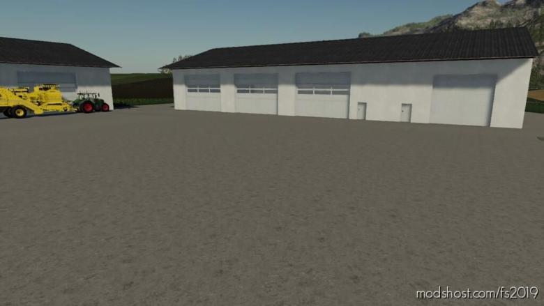 Machine Hall Pack for Farming Simulator 19