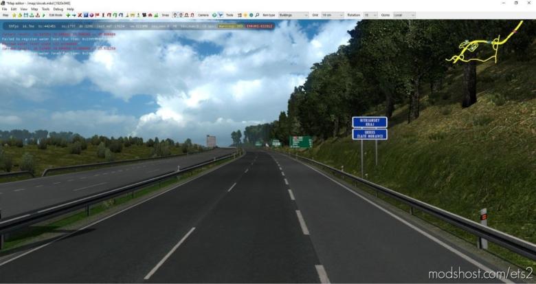 Slovakia Map By Kapo944 V6.2.9 [1.37] for Euro Truck Simulator 2