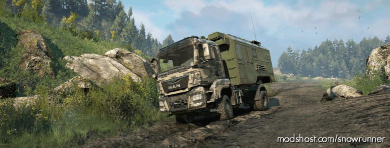 MAN Truck TGS 480 1.0.2 for SnowRunner