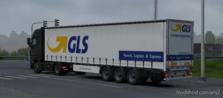 Real Brand AI Trailers for Euro Truck Simulator 2