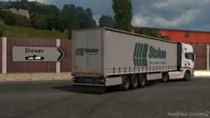 Classic SCS Company Trailer Skins For SCS BOX Trailer for Euro Truck Simulator 2