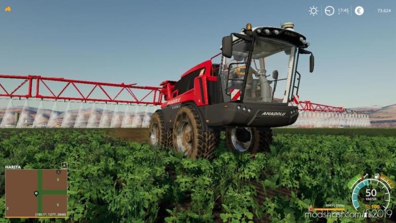 Anadolu Spreyleme TR for Farming Simulator 19