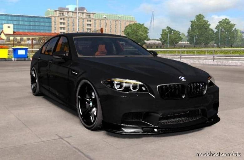 BMW M5 F10 + Interior V1.1 [1.37.X] for American Truck Simulator