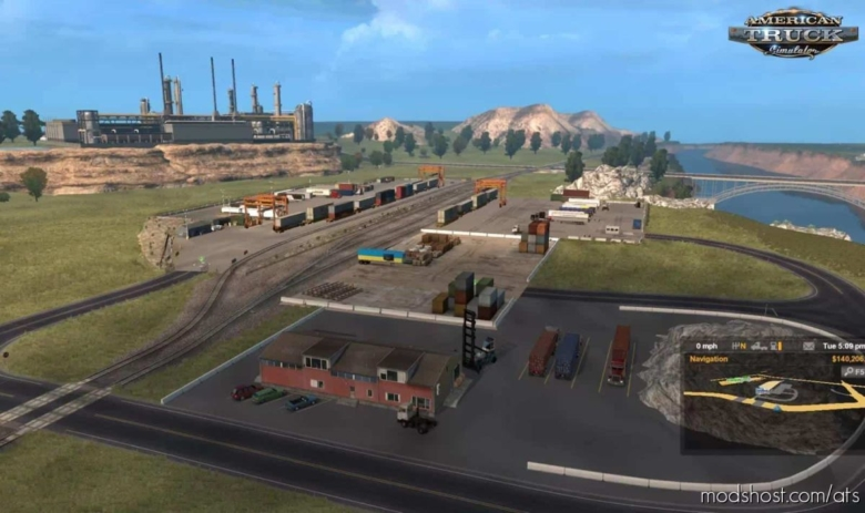 Montana Expansion Map V0.6.5 [1.37.X] for American Truck Simulator