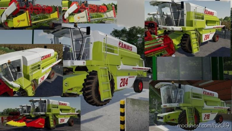 Claas Mega Pack V2.5 for Farming Simulator 19