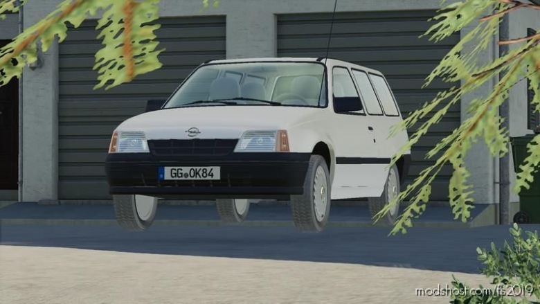 Opel Kadett E Caravan for Farming Simulator 19