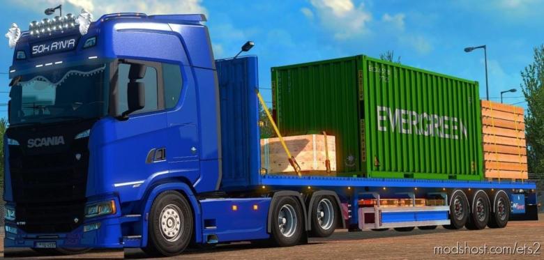 Flatbedtrailer Edit V0.5 Beta for Euro Truck Simulator 2