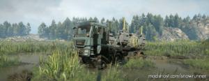 MAN Truck TGS 480 8X8 V1.0.1 for SnowRunner