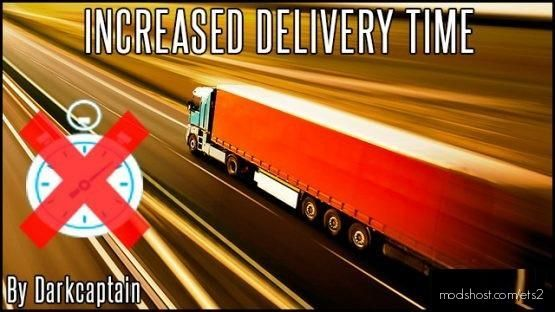 Increased Delivery Time [1.37 – 1.38] for Euro Truck Simulator 2