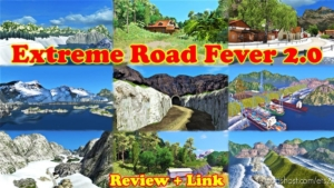 Extreme Road Fever V2.0 ERF Map [1.36 & 1.37] for Euro Truck Simulator 2