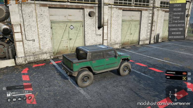 Hummer Crawler for SnowRunner