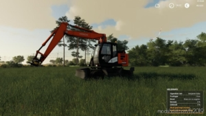 Hitachi Zaxis 145W for Farming Simulator 19