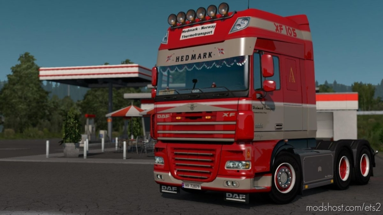 DAF XF Hedmark Transport Skin for Euro Truck Simulator 2