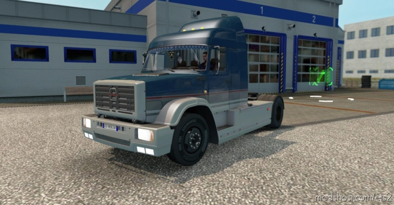 ZIL 5423 V1.2.5 [1.37.X – 1.38.X] for Euro Truck Simulator 2