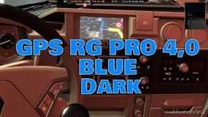 GPS RG PRO Blue Dark V4.0 for Euro Truck Simulator 2