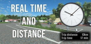 Real Time And Distance for Euro Truck Simulator 2