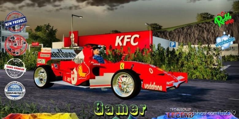 Marlboro F1 Tfsg for Farming Simulator 19