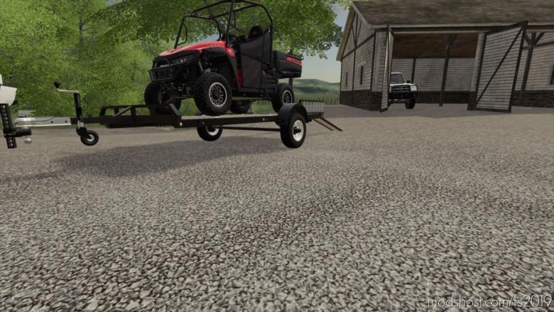Featherlite Trailer for Farming Simulator 19