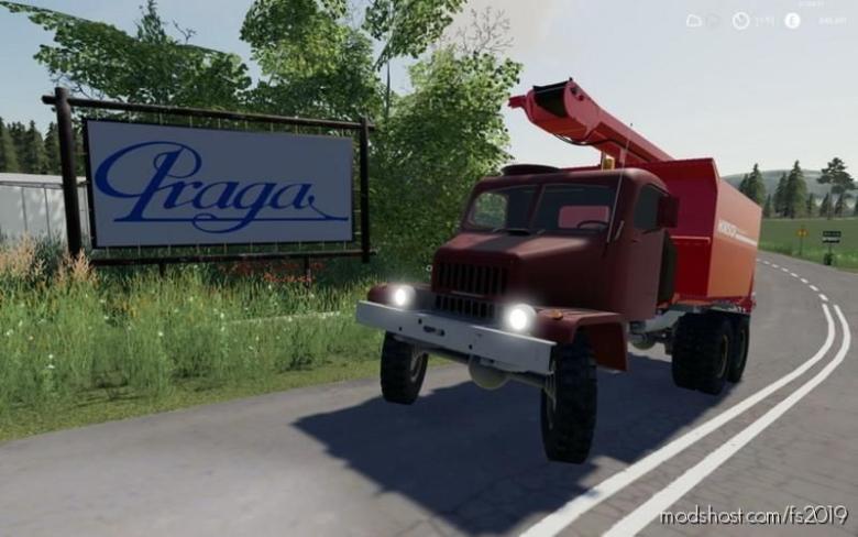 Praga V3S for Farming Simulator 19