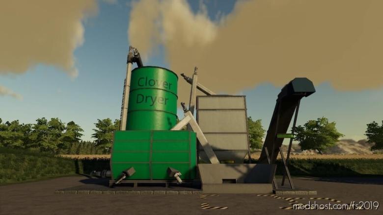 Globalcompany – Clover Dryer for Farming Simulator 19