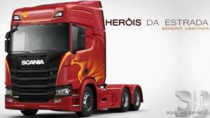 Skin Scania Herois DA Estrada for Euro Truck Simulator 2