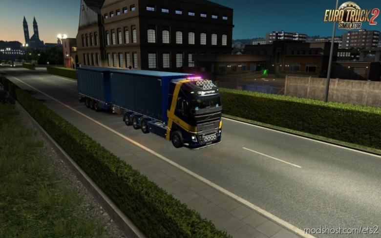 Rpie Volvo FH16 2012 V1.38.0.25S for Euro Truck Simulator 2