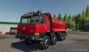 Tatra Terrno1 8X8 + Korba S1 for Farming Simulator 19
