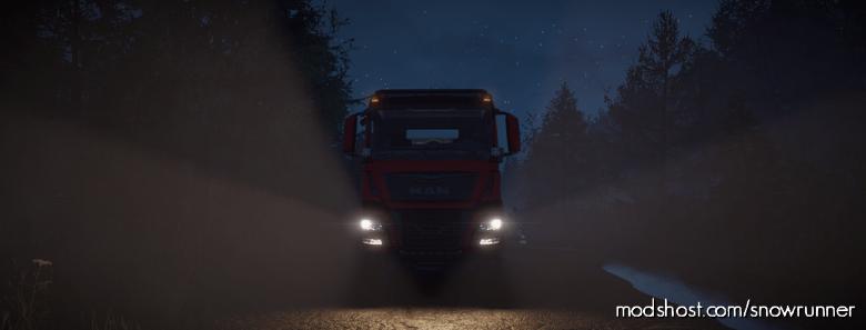 MAN Truck TGS 480 6X6 V1.3.0 for SnowRunner