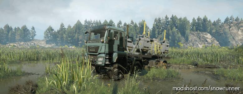 MAN Truck TGS 480 8X8 V1.3.0 for SnowRunner