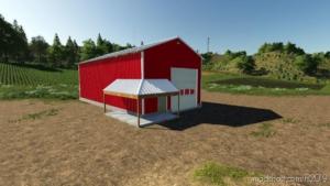 30 X 60 Work Shop Shed for Farming Simulator 19