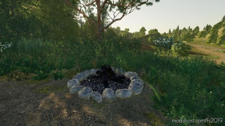 Camp Fire (Prefab) for Farming Simulator 19