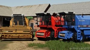 Bizon Rekord Z058 for Farming Simulator 19