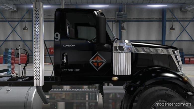 Matchbox Skin For International Lonestar Daycab + 53 Feet Trailer for American Truck Simulator