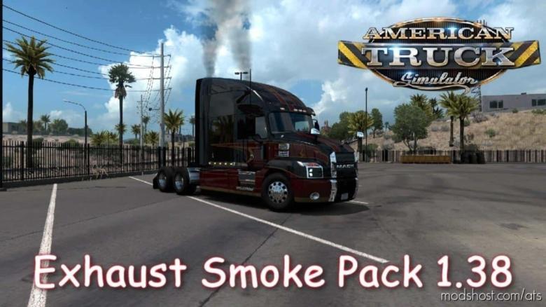 Exhaust Smoke [1.38] for American Truck Simulator