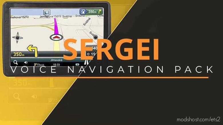 Siergiei Voice Navigation Pack for Euro Truck Simulator 2