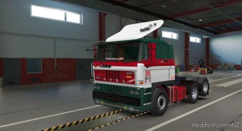 DAF F241 Moller Skin for Euro Truck Simulator 2