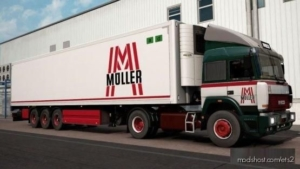Oldschool Müller Transporte Combo For Iveco Turbostar for Euro Truck Simulator 2