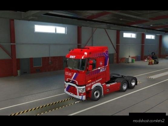 SNT [Shoots] Trange High CAB for Euro Truck Simulator 2
