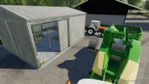 Straw Harvest Pallet Storage for Farming Simulator 19