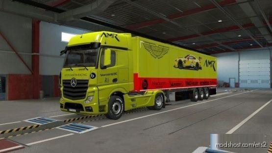 Aston Martin NEW Vantage 24H Lemans Combo Skin Pack for Euro Truck Simulator 2