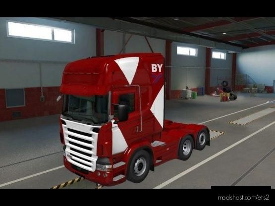 Brian Yeardley MET RJL Skin for Euro Truck Simulator 2