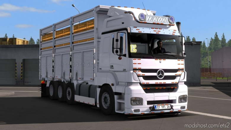 Mercedes-Benz Axor 3240 [1.37] for Euro Truck Simulator 2