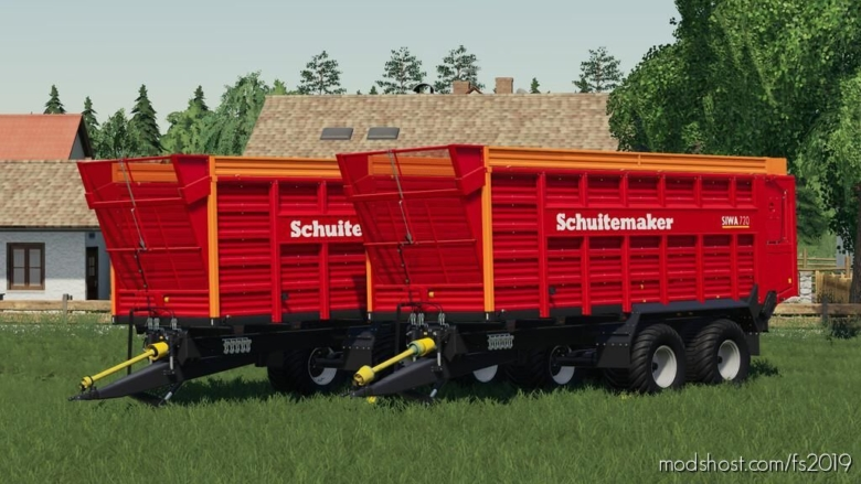 Schuitemaker Siwa 720 for Farming Simulator 19
