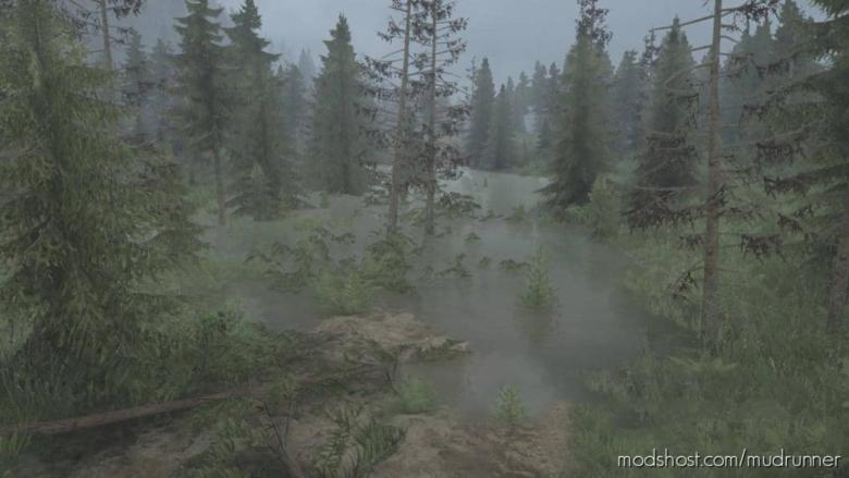 Taiga Forest Map V05.07.20 for MudRunner